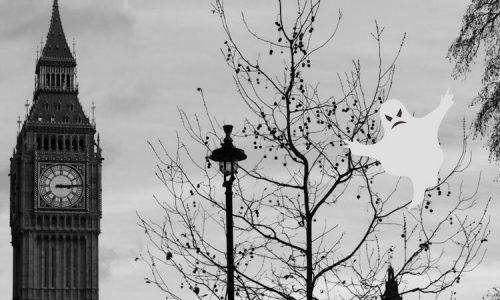 I LUOGHI MAGGIORMENTE INFESTATI A LONDRA