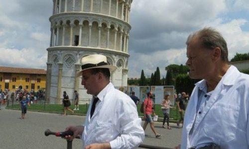 IL FANTASMA DI GALILEO SOTTO LA TORRE DI PISA