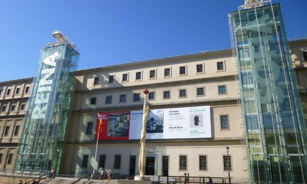 I FANTASMI DEL MUSEO REINA SOFIA DI MADRID